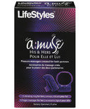 LifeStyles a:muse His & Hers Pleasure Massagers