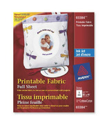 Avery Printable Iron-On Fabric for Inkjet Printers