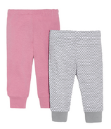 Skip Hop Petite Triangles Baby Pant Set Pink