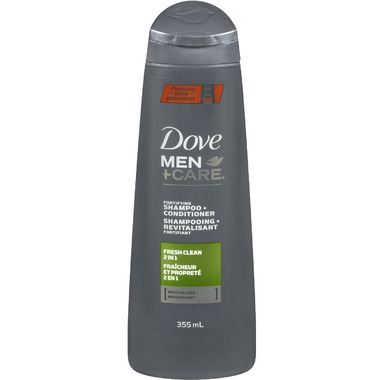 Dove Men +Care 2 in 1 Shampoo + Conditioner Fresh Clean