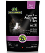 Holistic Blend My Healthy Pet Freeze Dried Salmon Filet Feline Treats