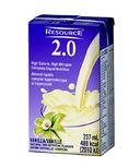 Resource 2.0 Vanilla Nutrition Formula Beverage