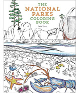 The National Parks Colouring Book