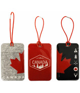 MYTAGALONGS Canadiana Luggage Tags
