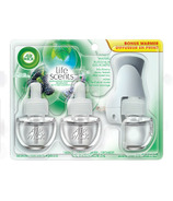 Air Wick Air Freshener Scented Oil Kit Bonus Pack Forest Waters