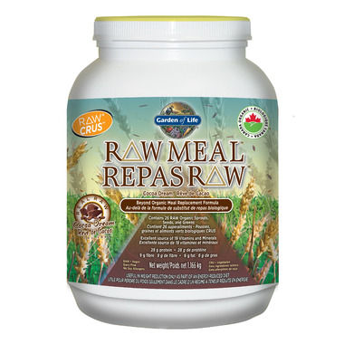 Buy Garden Of Life Raw Meal Replacement Formula At Free Shipping 35 In Canada