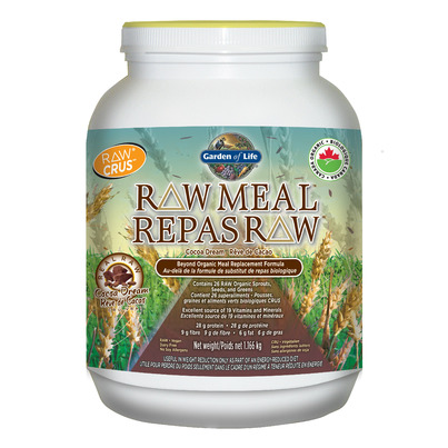Buy Garden Of Life Raw Meal Replacement Formula Kg Online In Canada Free Ship 29