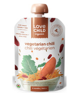 Love Child Organics Veggie Protein Pouch Vegetarian Chili