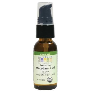 Aura Cacia Macadamia Organic Skin Care Oil