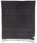 Tofino Towel The Shore Washed Black Turkish Towel
