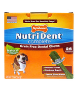 Nutri Dent Complete Dental Chews Grain Free Medium Size 26 Pack