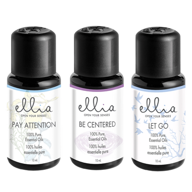 Ellia 100% Pure Essential Oil Blend 3 Pack