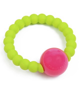 Chewbeads Baby Mercer Rattle Chartreuse