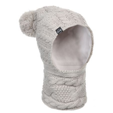 Kombi The Snood Childrens Balaclava Silver Clouds