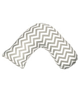Jolly Jumper Boomerang Nursing Cushion Grey Chevron
