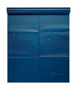 Gaiam Foldable Yoga Mat 2 mm Blue Sundial