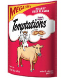 Whiskas Temptations Hearty Beef Flavour Cat Treats