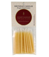 Honey Candles Pure Beeswax Birthday Candles Natural