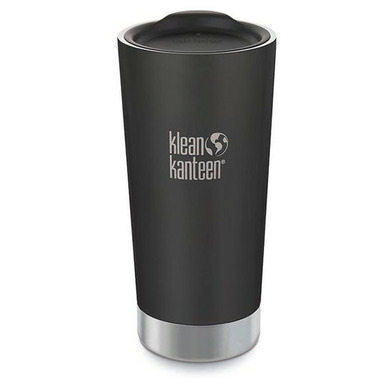 Klean Kanteen Insulated Tumbler with Tumbler Lid Shale Black