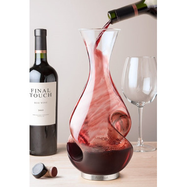 Final Touch L\'Grand Conundrum Aerator Decanter