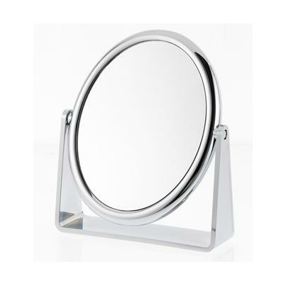 Danielle by upper canada ultra vue metallic oval vanity mirror for Oval mirror canada