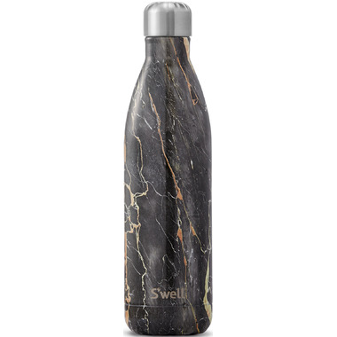 S\'well Elements Collection Stainless Steel Water Bottle Bahamas Gold Marble