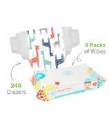 The Honest Company Honest Size 2 Diapers & Wipes Bundle
