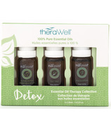 Therawell Essential Oil Blend 3 Pack Detox