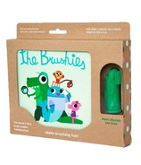 The Brushies Baby Toothbrush Puppet and Book