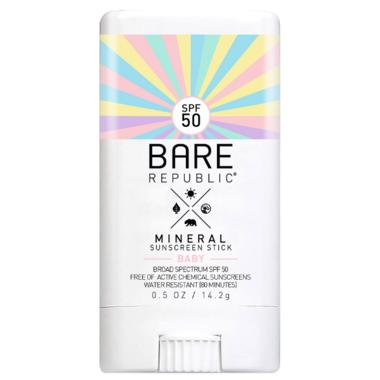Bare Republic Mineral Baby SPF 50 Sunscreen Stick