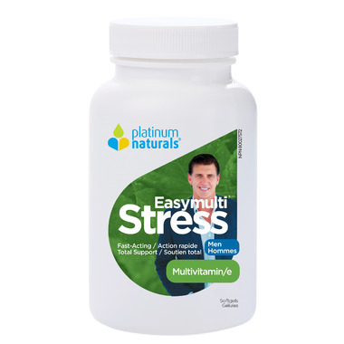 Platinum Naturals Easymulti Stress Men
