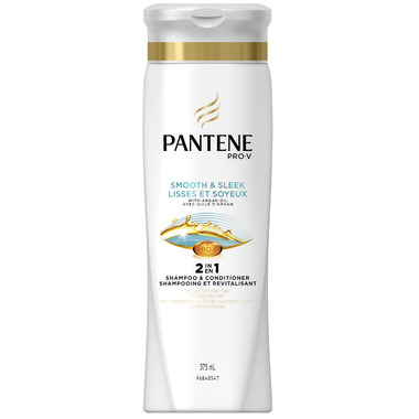 Pantene Smooth & Sleek 2-in-1 Shampoo & Conditioner