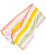 Little Unicorn Cotton Muslin Swaddle Blanket Cabana Stripe