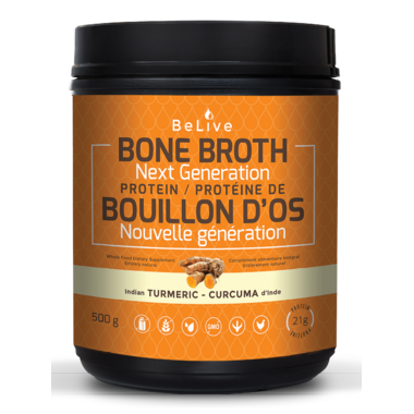 BeLive Bone Broth Protein Next Generation Indian Turmeric