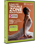 Gaiam 5 Day Fit: Trouble Zone Solutions DVD