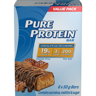 Pure Protein Chocolate Salted Caramel Protein Bar