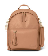 Skip Hop Greenwich Simply Chic Diaper Backpack Caramel