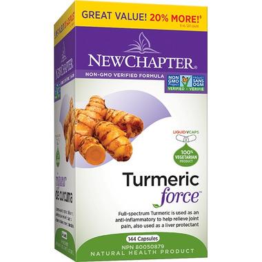 New Chapter Turmeric Force Bonus Size