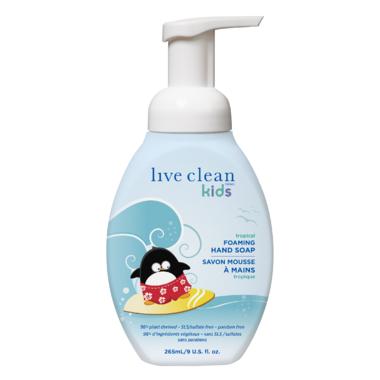 Live Clean Kids Foaming Hand Soap