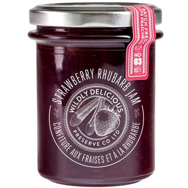 Wildly Delicious Strawberry Rhubarb Jam