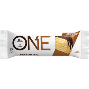 ONE Brands Protein Bar Peanut Butter Chocolate Cake