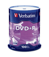 Verbatim 16X Branded DVD+R Discs