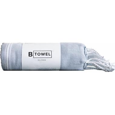 B Yoga B TOWEL Full Body Grey