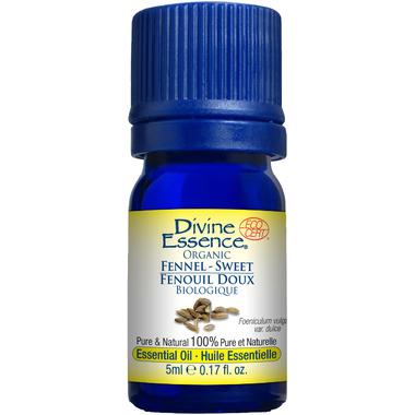Divine Essence Sweet Fennel Organic Essential Oil