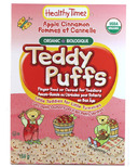 Healthy Times Apple Cinnamon Teddy Puffs
