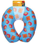 Paddington Bear Travel Neck Pillow in Blue