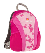 LittleLife Runabout Toddler Daysack Pink