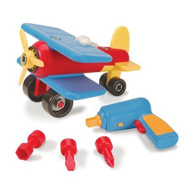 Battat Take Apart Airplane Construction Toy Vehicle