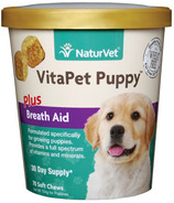 Naturvet VitaPet Puppy Plus Breath Aid Soft Chews