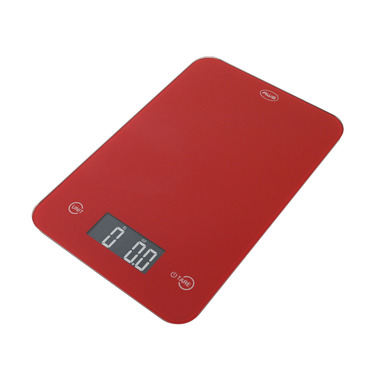 American Weigh Scales ONYX Digital Kitchen Scale Red